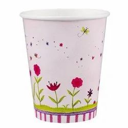 Paper Printed Disposable Coffee Cup For Event and Party Supplies, Capacity: 200 Ml
