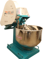 Stainless Steel Automatic Dough Kneading Machine, 1 Hp, Capacity: 10-15 Kg