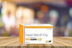 Clobazam Tablets 10 MG