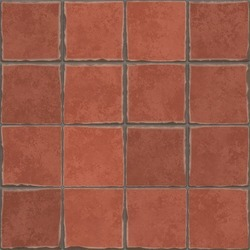 Terracotta Tile 3 Cm Rs 45 Square
