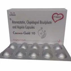 Atorvastatin Clopidogrel Bisulphate and Aspirin Capsules