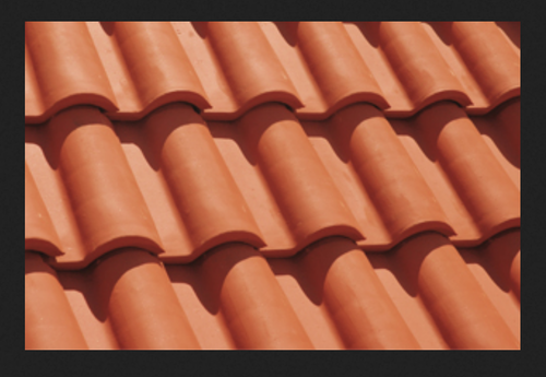 Natural Terracotta Clay Roof Tile