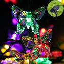 Hardoll  Butterfly Solar Decorative String or Serial Rice Light