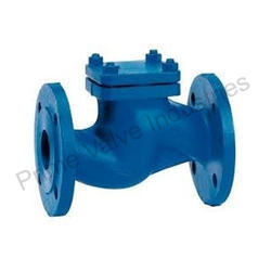 Horizontal Lift Check Valve