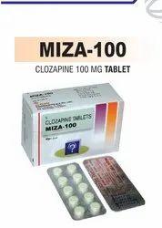 Clozapine 100 Mg Tablet