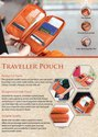 Travel Wallet Passport Holder Document Organizer - Giftana