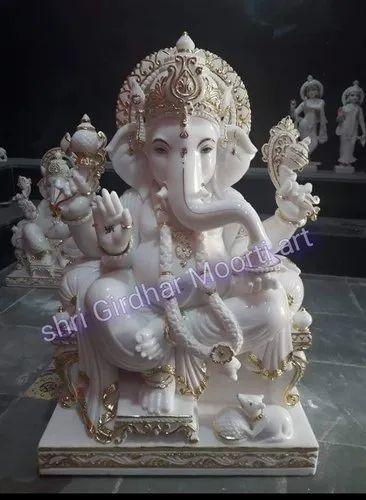 Marble Ganesha Statue Marble Ganesh Statue Manufacturer From Jaipur