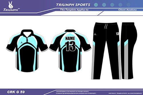 7408157d Designer Cricket T-shirt - Colored Cricket Jerseys Exporter from Ahmedabad