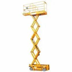 Cranes Electrical Scissor Lift Rental Service