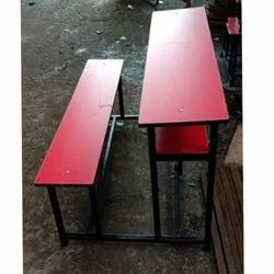 Red School Desk