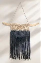 cotton rope Macrame Wall Hanging Dip Dye, for Decoration