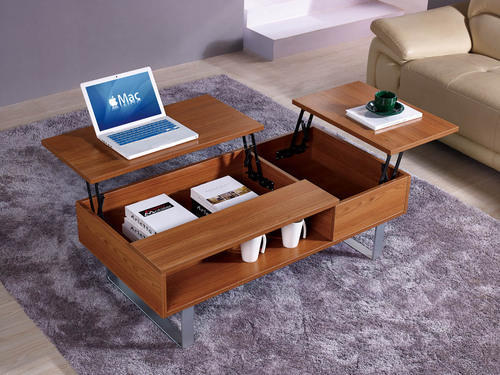 Walnut Color Nirvana Multi Functional Coffee Table