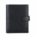 LWFM00260 Black Mens Leather Wallet