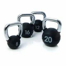 Black Escape Fitness Rubber Kettlebells, For Strength
