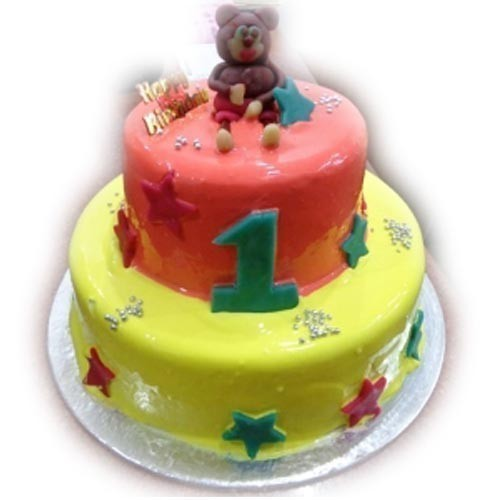 Incredible First Birthday Cake 3 Kg At Rs 2698 Piece Adambakkam Chennai Personalised Birthday Cards Paralily Jamesorg