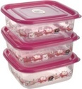 Square Food Container Delight 3 Packs