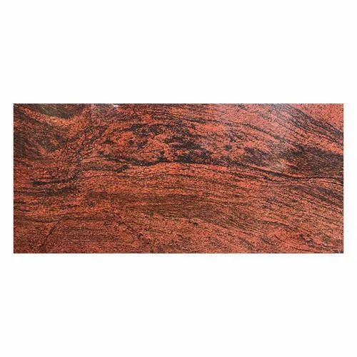Life Time Ventures Red Granite Stone, Thickness: 15-20 mm