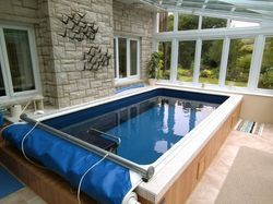 Frp,Pvc Outdoor Endless Pool, For Hotels/Resorts