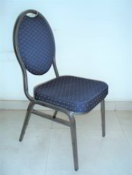 Blue And Red Banquet Hall Chair