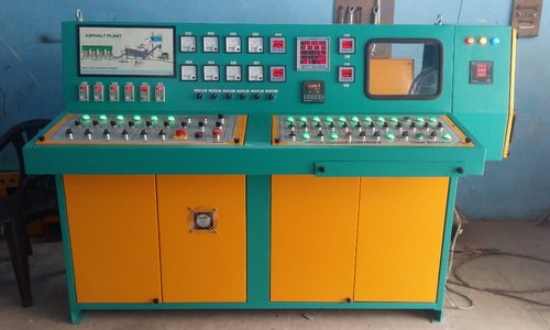 Three Phase Fully Drum Mix Plant Control Panel Bord