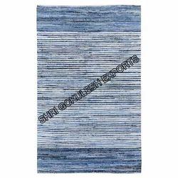 SGE Handwoven Cotton Denim Rug