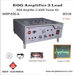 EOG Amplifier 3 Lead Trainer Kit