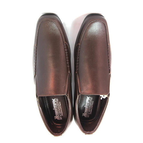 Paragon Brown Formal Shoes, Size: 6 to