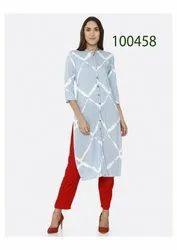 Amazing Cotton Printed Kurti By Parvati Fabric