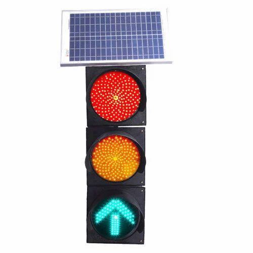 LED Solar Traffic Signal Blinker Light - D S Enterprises