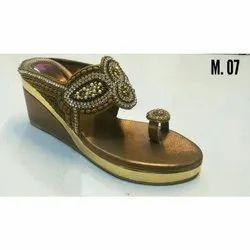 Women Designer Slip On Wedge Sandal