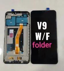 Ips Display Black Vivo v9 universal Folder
