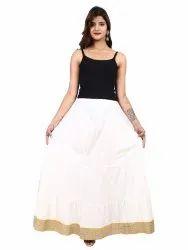 Cotton Designer Skirt