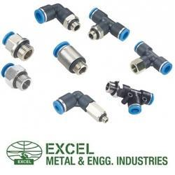 Excel Push In Fitting, for Pneumatic Connections , Size: 3 inch