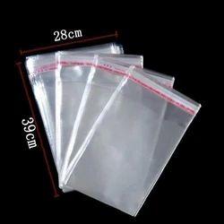 Plastic CLEAR BOPP Bags