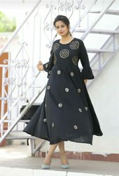 Ladies Gota Patti Kurti