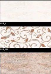 519 (HL, L) Hexa Ceramic Tiles Glossy  Series