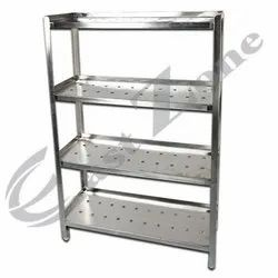 East Zone SS Clean Dish And Glass Rack, For Kitchen
