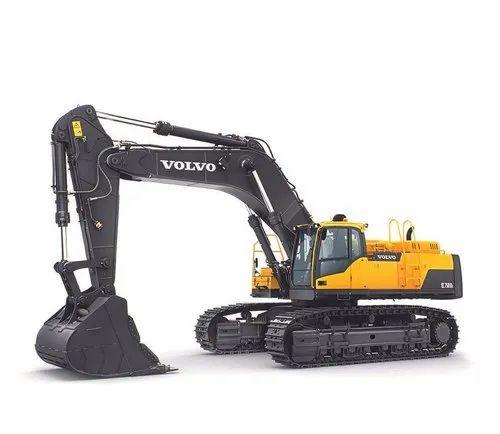 Volvo EC750D Crawler Excavator, 73 Ton, 523 Hp