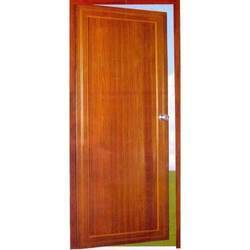 Brown Wooden Finish PVC Doors, For Home