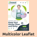 Multicolor Leaflet Printing Service