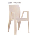Varmora Plastic Chair With Fixed Arm, Dimensions: 570 X 540 X 840 Mm
