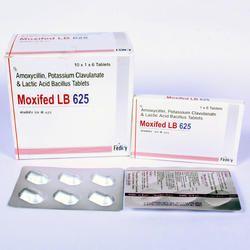 Amoxycillin 500mg Potassium Clavulanate 125mg Lactic Acid