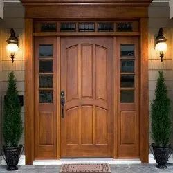 Designer Wooden Hinged Door