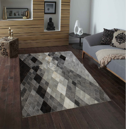 Hide Leather Carpets & Rug Collection