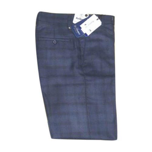 Keliborn Mens Blue Check Pant Size 28 40 Rs 350 Piece Id