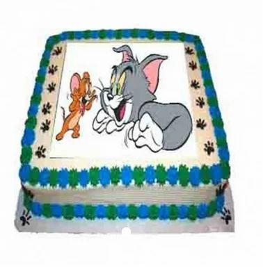 Phenomenal Abtj010 Tom And Jerry Cake Birthday Cake Pettishop E Birthday Cards Printable Trancafe Filternl
