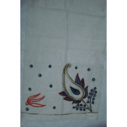 Silk/Wool Hand Embroidered Shawls