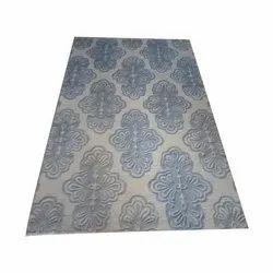 Rectangular Printed Door Cotton Carpet