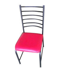 Powder Coated Cushion Chair