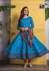 Mahavir Creation Panna Vol-10 Series 001-008 Stylish Party Wear Cotton Suit